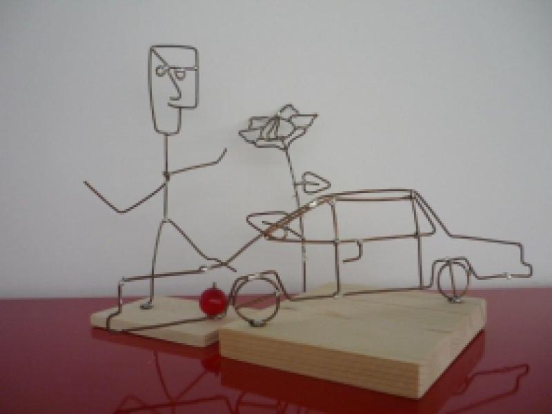 kreativwerkstatt metall - basteln mit dem lötkolben, Garten ideen